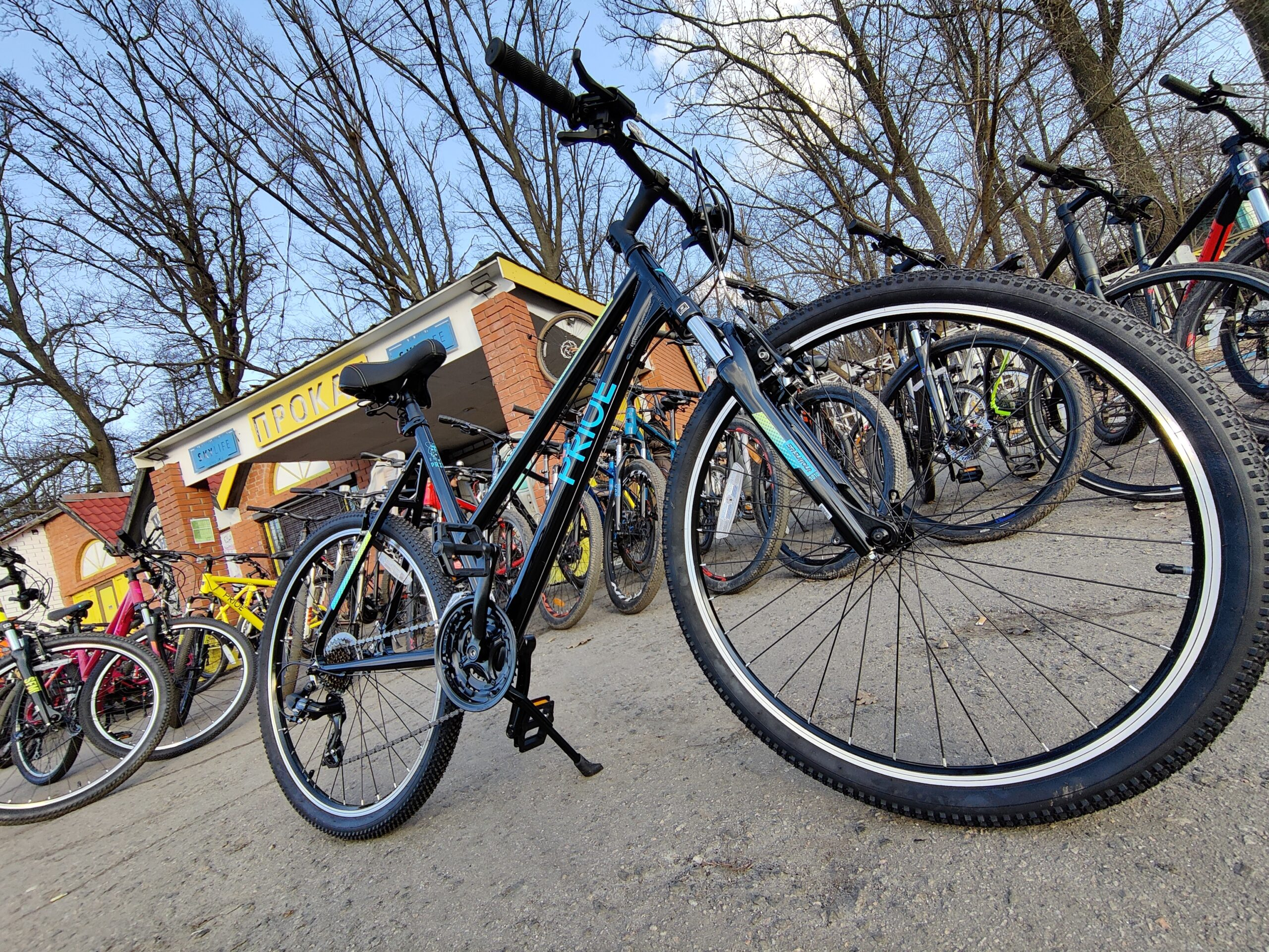 Велосипед 26″ Pride STELLA 6.1 рама — L 2021 черный