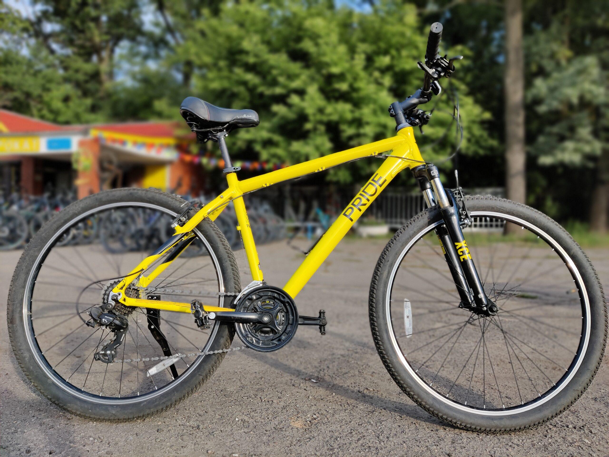Велосипед 26″ Pride MARVEL 7.1 (2021) желтый M, L