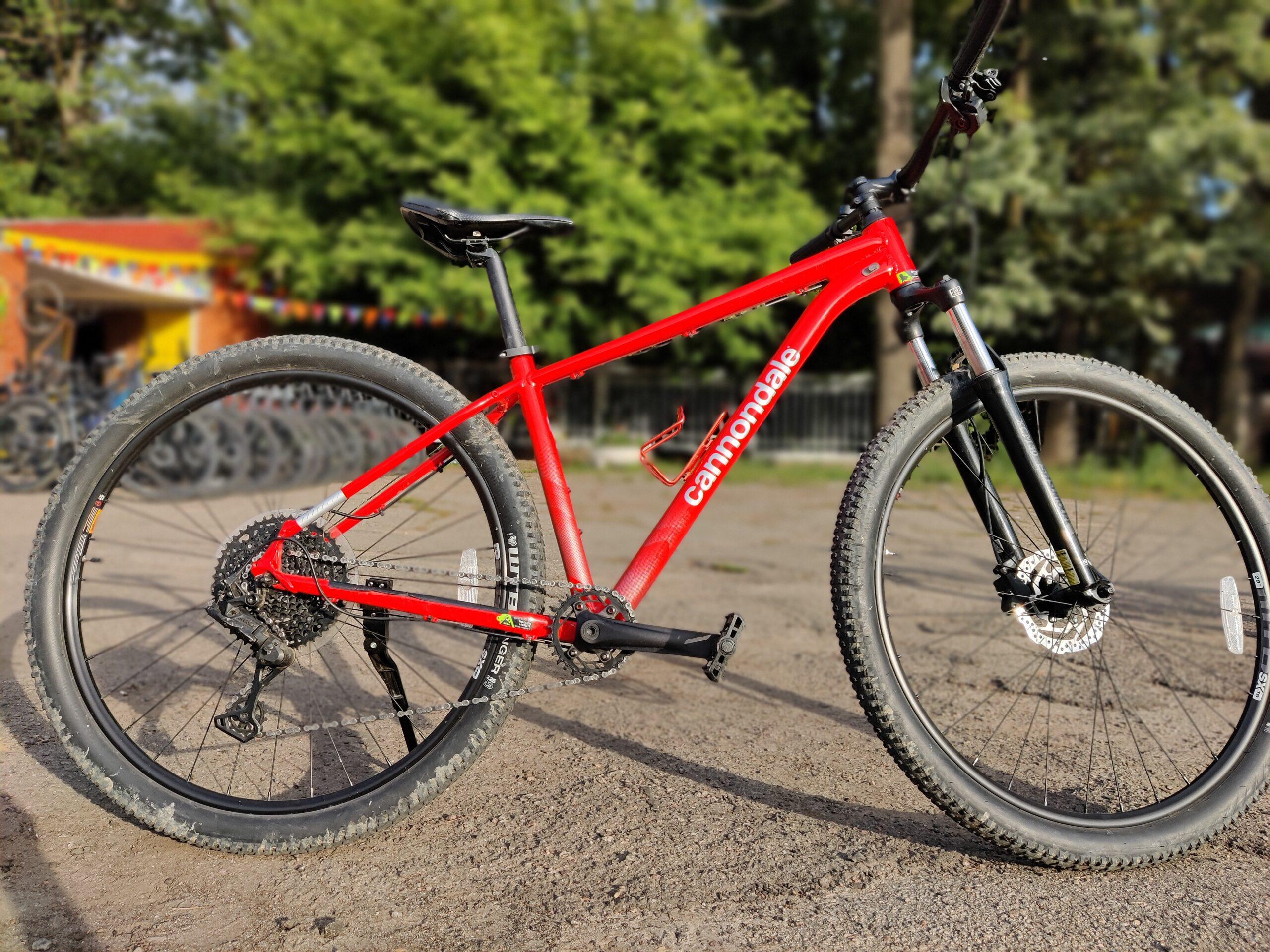 Велосипед 29″ Cannondale TRAIL 5 рама — M,L,XL 2021 red