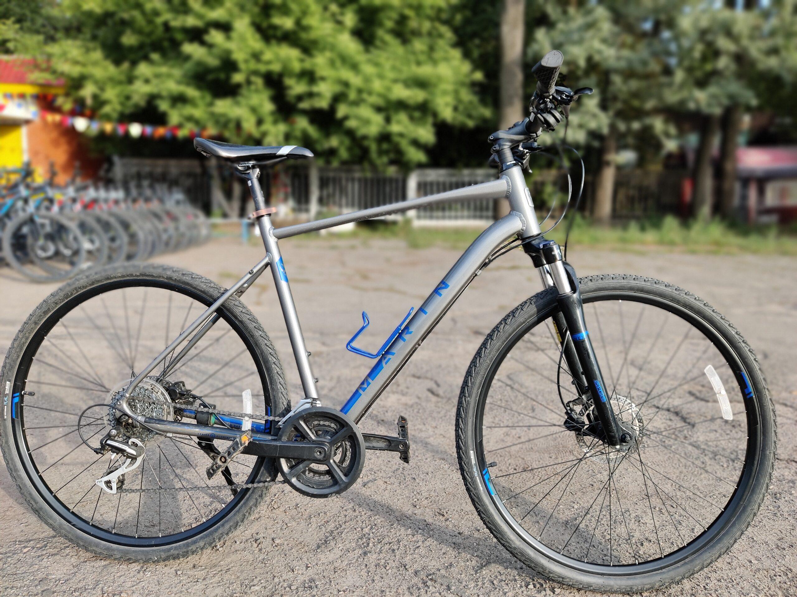 Велосипед 28″ Marin SAN RAFAEL DS2 рама — XL 2021